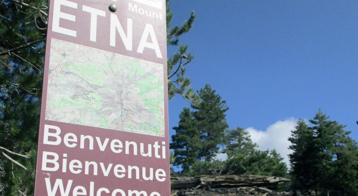Etna - Benvenuti, Welcome, Bienvenue