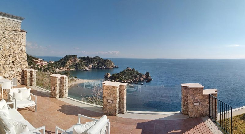 Isola Bella Luxury Suite - Panoramic terrace