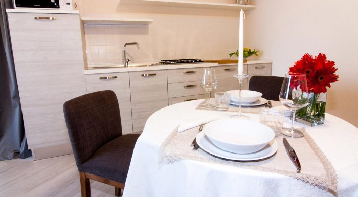 Suite Ulivo - Cucina e living room