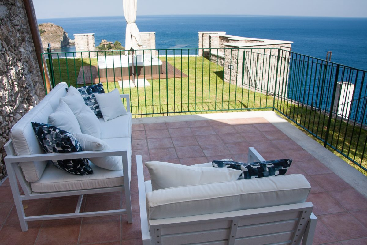 Luxury Suite Ulivo - Private terrace